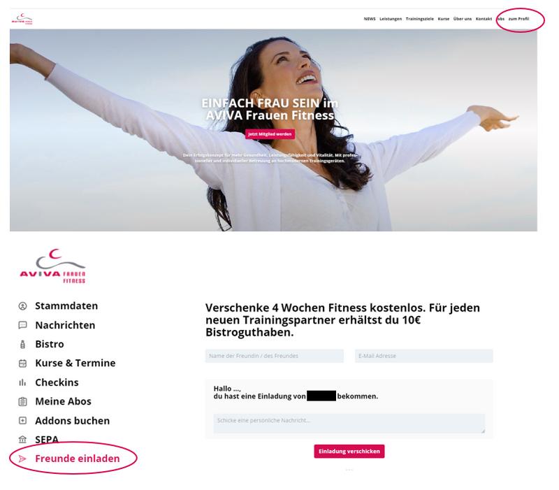 Einladen_Website